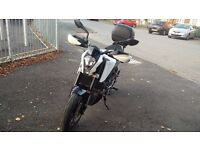 2015 KTM 200 Duke with £800 worth of extras