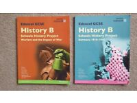 Edexcel GCSE History B: - Warfare and the Impact of War, and Germany 1918-1945
