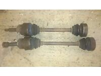 Ford sierra rear half shalfts,will fit 2.0 twin cam or 4x4 cosworth or xr4x4 come as in pic
