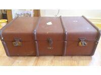 Vintage Trunk / Suitcase