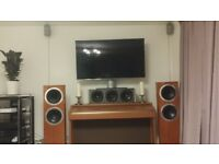 Used, Superb Dolby Atmos Home Cinema - Tannoy, B&W, Kef, Genelec speakers, Marantz, Parasound, Rotel amps for sale