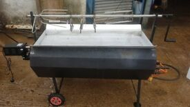 Hog Roast Machine with Brand New 80kg Motor