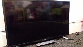 Sharp 32 inch LCD Broken Screen