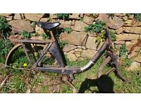Classic Vintage French Velosolex Solex 1700 / 2200 Frame 49cc Moped Mobylette Restoration Project