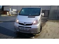 Vauxhall Vivaro 2008 in an Excellent Condition Fully Loaded