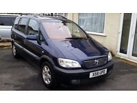 Vauxhall Zafira 7 seater, Mot May '17, Brilliant family car, a little tlc needed