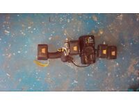 Job lot battery drills and one angle grinder