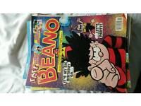 Beano comic's 2001-2007 just under 60