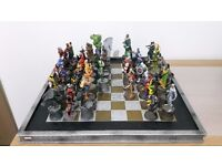 Eaglemoss Marvel Chess Collection: Avengers, X-Men, Fantastic 4, Special Editions, Chess Board