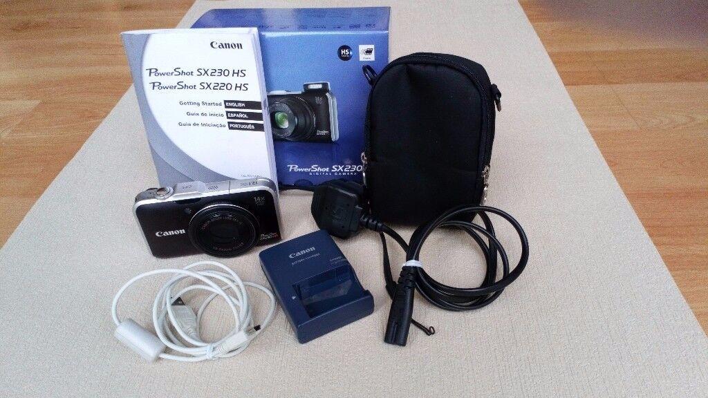 Canon PowerShot SX 230 HC