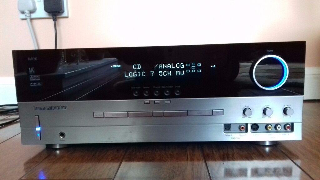 Harmon Kardon AVR 230 Surround Sound Receiver Amplifier