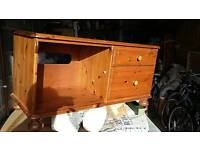 Pine TV / Stereo Cabinet made by Ducal