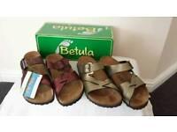 Ladies birkenstock sandals