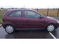 Vauxhall Corsa Hatchback 2003 C 1.2 i 16v Design 3dr (a/c) 650ono