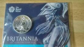 2015 Silver Royal Mint £50 Britannia Coin