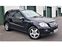 MERCEDES ML 500 5.0 V8 SE (306) LPG GAS DUAL FUEL 138K FSH ON LPG REGISTER* MOT TIL: 05.10.18 NAV