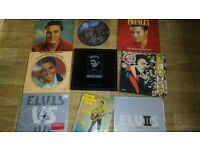 9 x elvis presley vinyls , picture disc , box set ,colour vinyl song book - 2nd