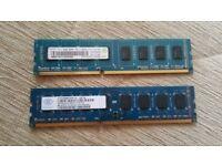 Ram memory ddr3 8gb (2x4gb)
