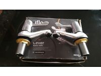 Iflo bath taps brand new never been used still in box