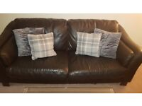 Leather sofa 2&3