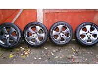 Vauxhall corsa c sri alloy 4× 5 stud