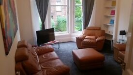 """Furnished Double room to rent in Dennistoun. """"SHORT TERM 6 WEEK LET """""""