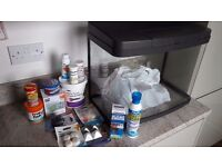 Love Fish 40L tropical fish tank with accessories