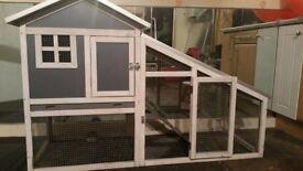 Indoor / Outdoor Rabbit Hutch