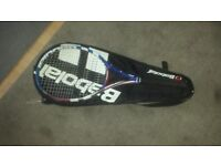 Babolat and dunlop tennis rackets
