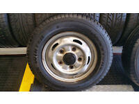 195 70 15 C 1 x tyre Firestone VanHawk Winter + steel wheel