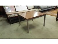 Vinatge Square Formica Side / Coffee Table