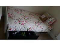 Ikea flaxa single bed with storage