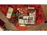 X-Box 360 & lots of X-Box Stuff