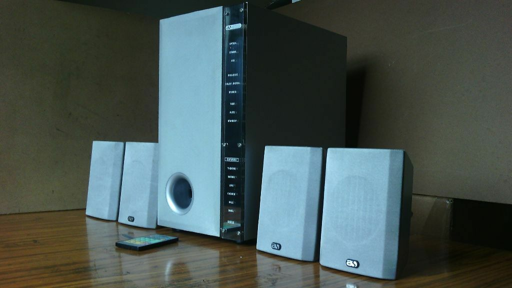 Acoustic Solution DS533 5.1 Home cinema / phone surround sound ...