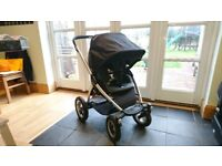Maxi-Cosi Mura 4 Stroller with Soft Cot & Footmuff - Excellent Condition