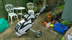 Ping i3 Golf Clubs with MacGregor Bag and Trolley