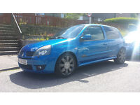 Renault Sport Clio 182 16V in Arctic Blue 2005 O.N.O - Not Civic, Fiesta, Type-R. Reduced!!!