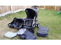 Pushchair travl system