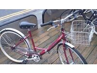RALEIGH Caprice - Womens Traditional Bike - Front Basket - Fully Serviced