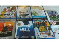 Joblot of PS2 and PC Games
