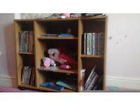 Wooden corner tv stand (ned gone)