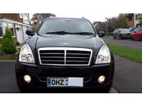 Ssangyong Rexton RX270 XDI Heated Leather. All electrics Air con. 4 good tyres. Used daily. Serviced
