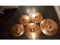 ZBT Zildjian Cymbals Set