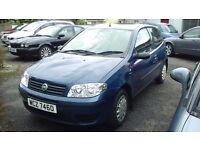 2004 Fiat Punto 1.2 Active 8v 3 door.