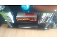 Xbox 360 for sale with 10 games and two control pads