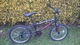 Hardly used kids BMX bike