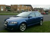 2006 AUDI A3 2.0 TDI, SPORT QUATTRO, 1 OWNER FROM NEW, FULL SERVICE HISTORY, HPI CLEAR