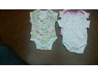 Baby body vests. Newborn.