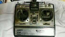 Futaba 6ch radio control with receiver