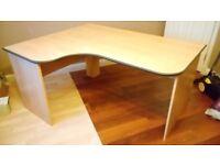 computer table , corner unit